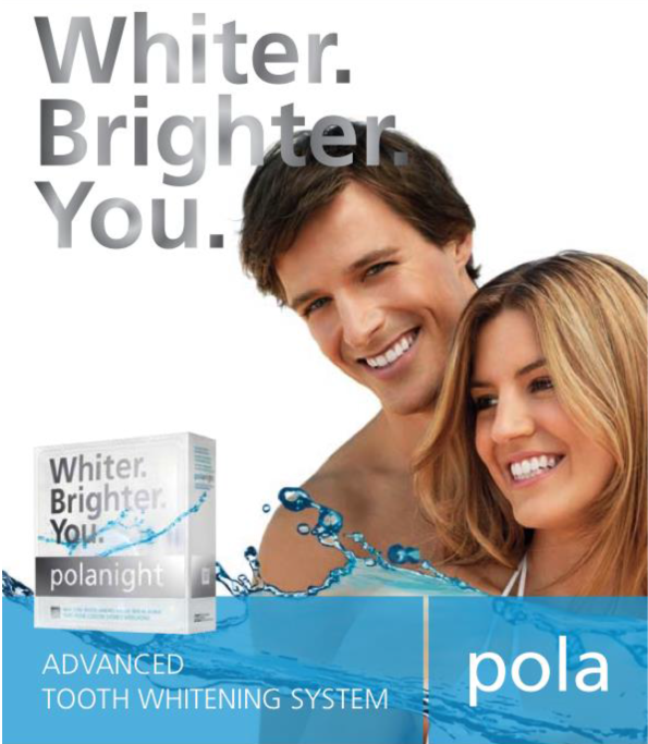 Pola tooth whitening - available at Bondi Dentistry, your local dentist in the heart of Bondi Beach